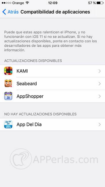 iOS 11 Apps de 32 bits dejan de funcionar 1
