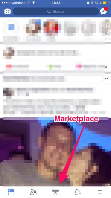 el Marketplace de Facebook 1