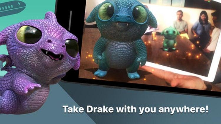 App de realidad aumentada Follow Me Dragon