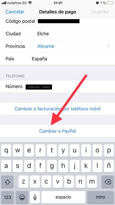 PayPal en la App Store 2