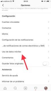 Reduce el consumo de datos en Instagram con estos consejos