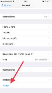No utilices ningún botón para apagar el iPhone con este truco