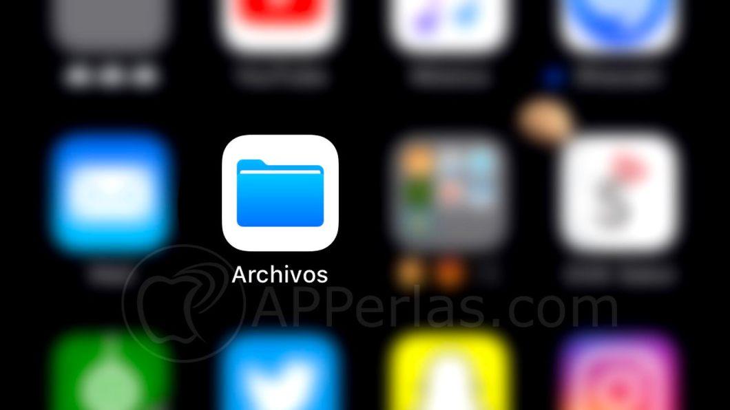 App archivos de iOS