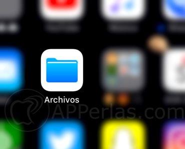 Cómo crear nuevas carpetas en la app Archivos de iOS