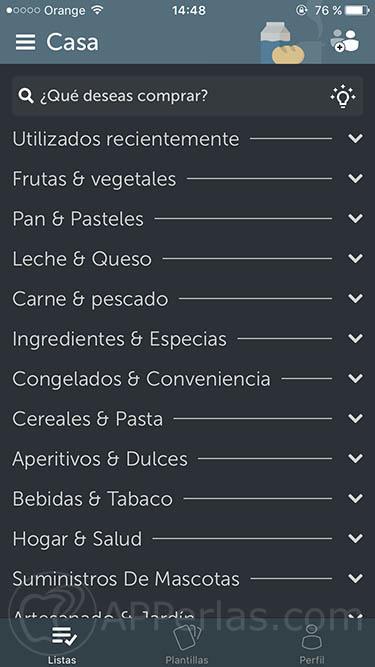 app para hacer la lista de la compra 1