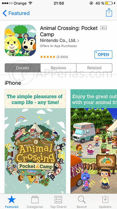 descargar Animal Crossing Pocket Camp en iPhone 2