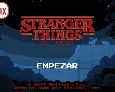 Stranger Things, el juego para iPhone de esta gran serie de Netflix