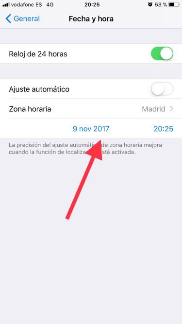 borrar los mensajes de Whatsapp 1
