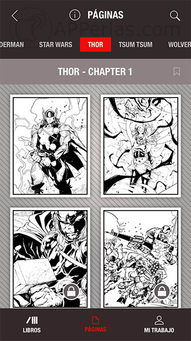 Marvel Color Your Own 1