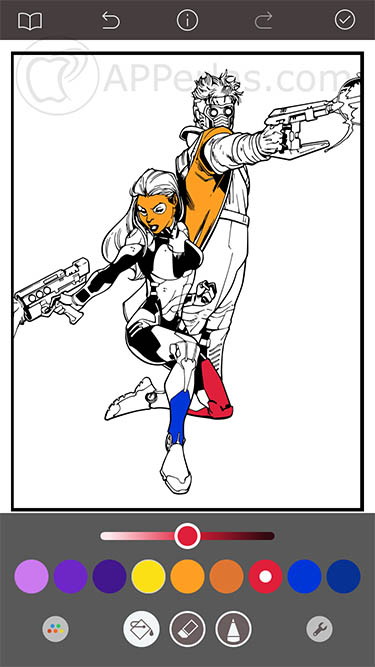 Marvel Color Your Own 2