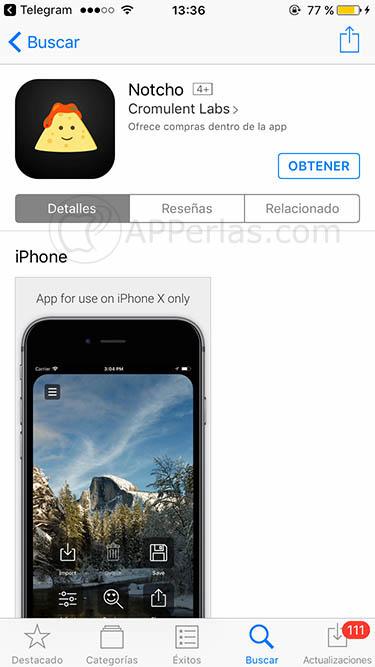 ocultar el notch del iphone x notcho notch remover 3