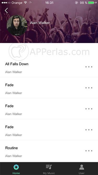escuchar música en iPhone 1 UMUSIO