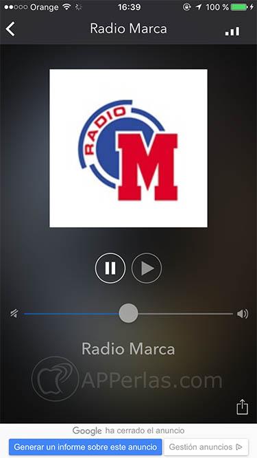 escuchar radios en iOS 2