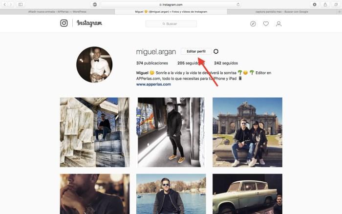 desactivar una cuenta de Instagram 1