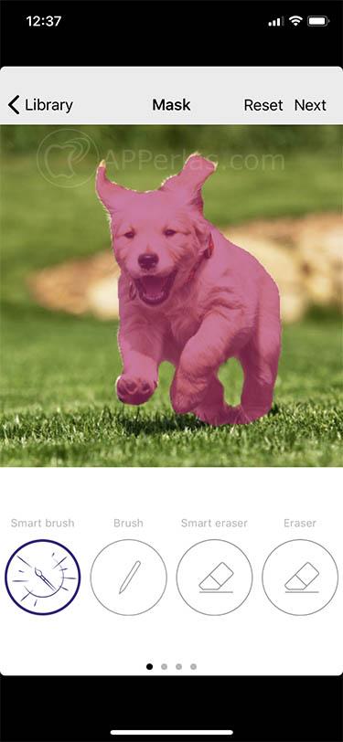 añadir efectos 3D para fotos viewmee 2