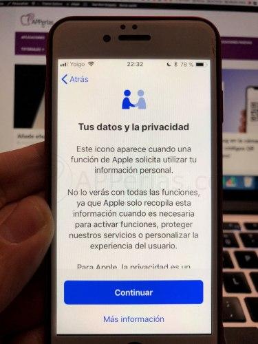 Privacidad en iOS 11.3