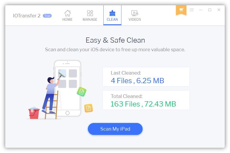 Limpia tu dispositivo iOS