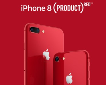 iPhone 8 y 8 Plus (PRODUCT) Red