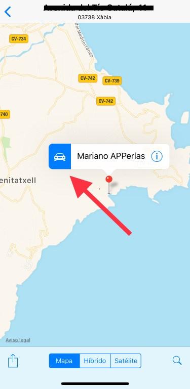 una ubicación de WhatsApp 1