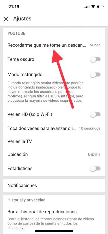 ver vídeos en el iPhone 1