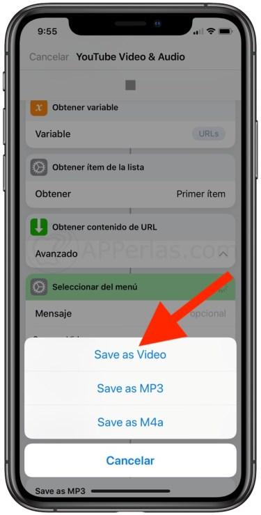 Descarga vídeos de Youtube en el iPhone