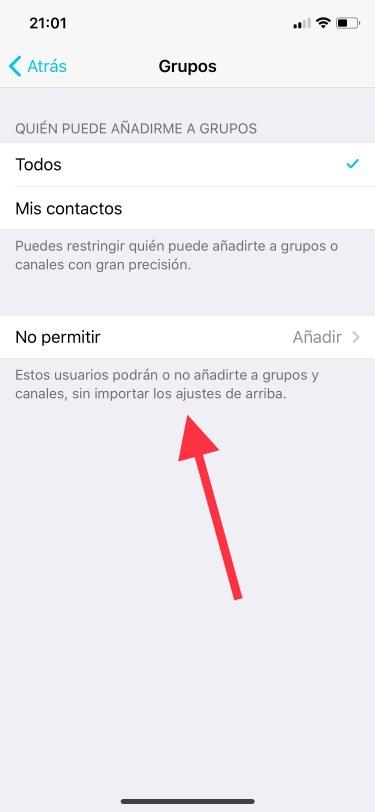un grupo de Telegram 1