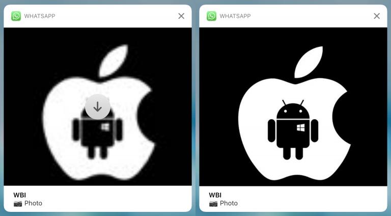 WhatsApp permitirá ver fotografías, vídeos o GIFs en las notificaciones