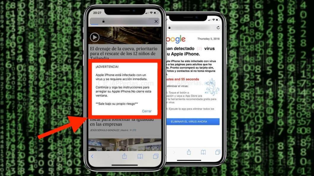 Virus en el iPhone