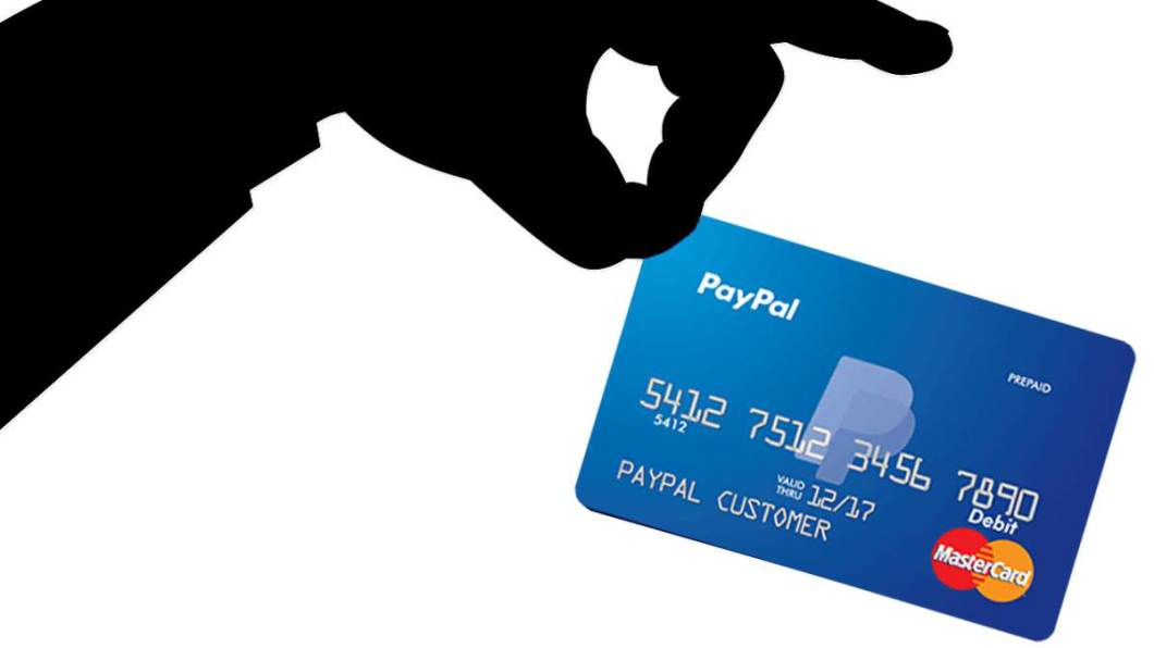 tarjetas en PayPal