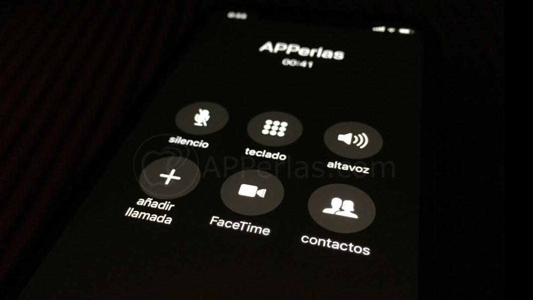 Multillamada en iPhone
