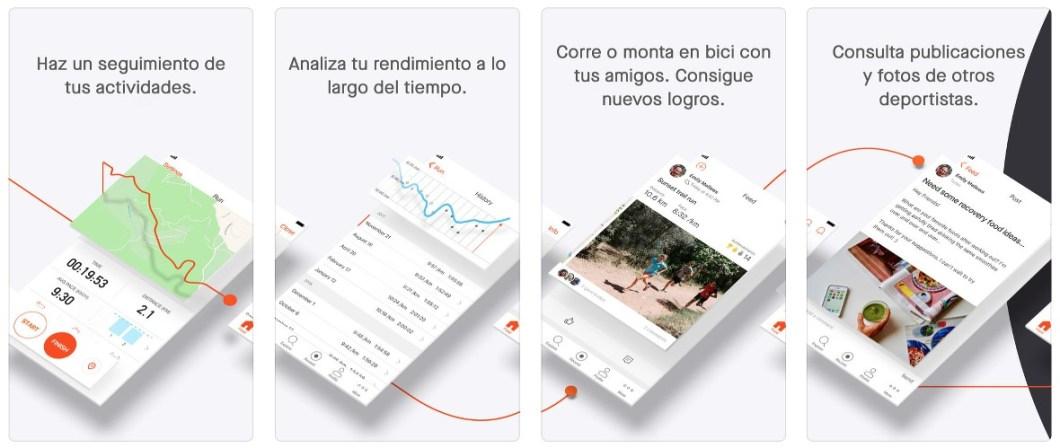 App Strava, una de las grandes apps de ciclismo para iPhone