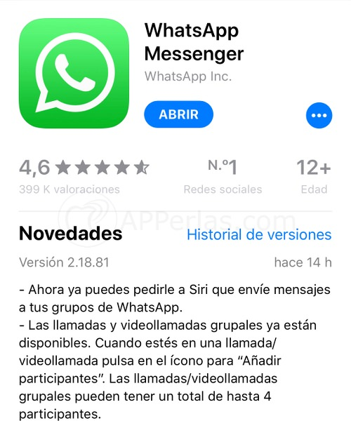 Whatsapp 2.18.81