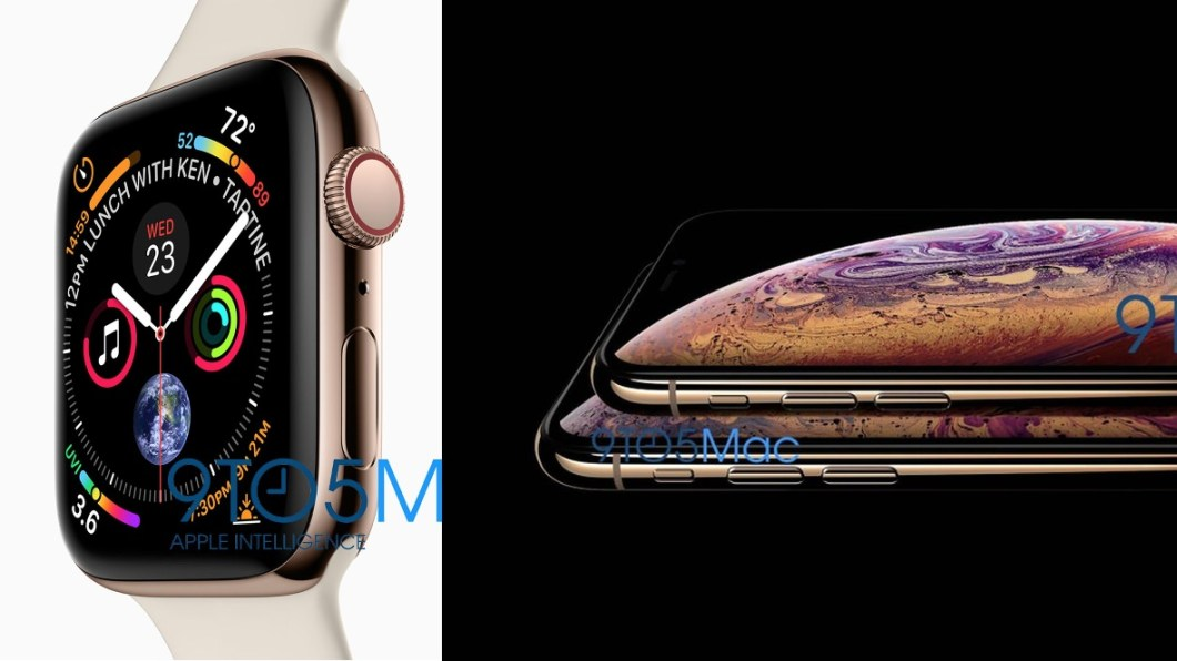 Apple Watch series 4 y iPhone XS y XS PLUS