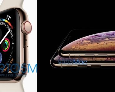 Estos son los nuevos iPhone XS y Apple Watch series 4. Precios y fechas