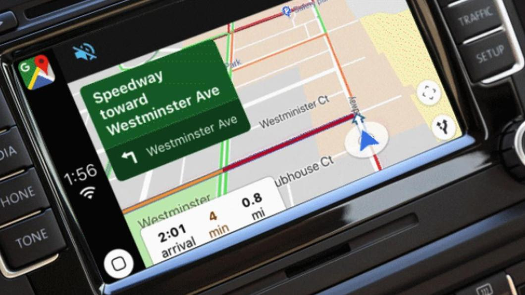 Google Maps en Carplay