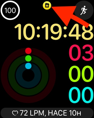Acceso directo a Walkie Talkie de WatchOS
