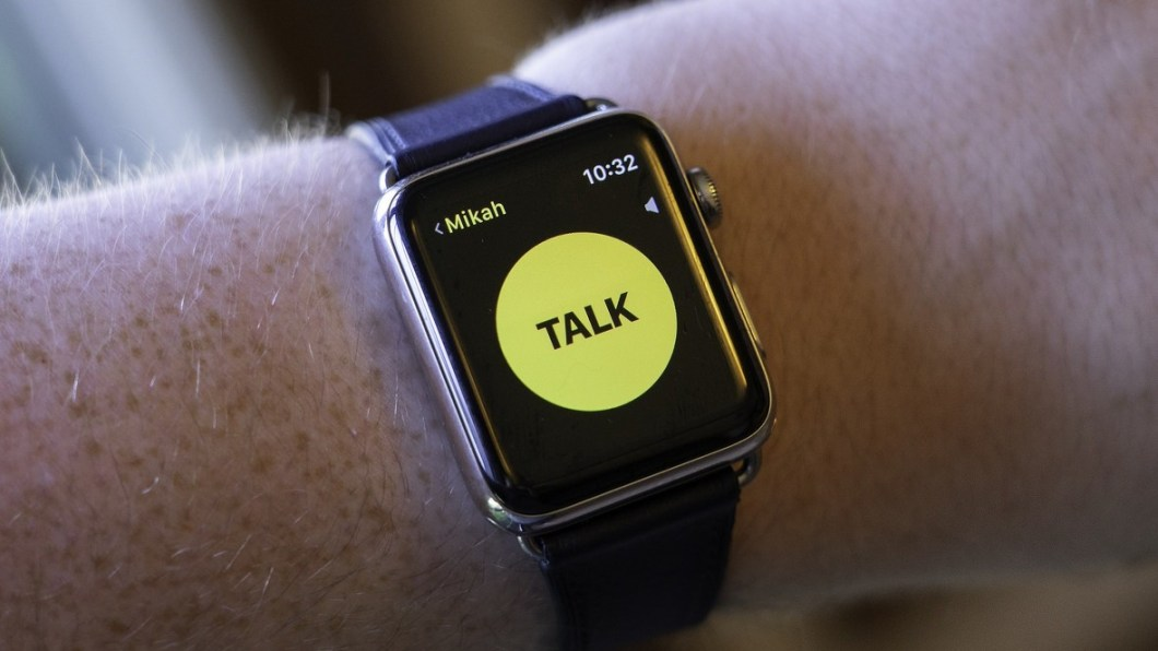Walkie Talkie del Apple Watch