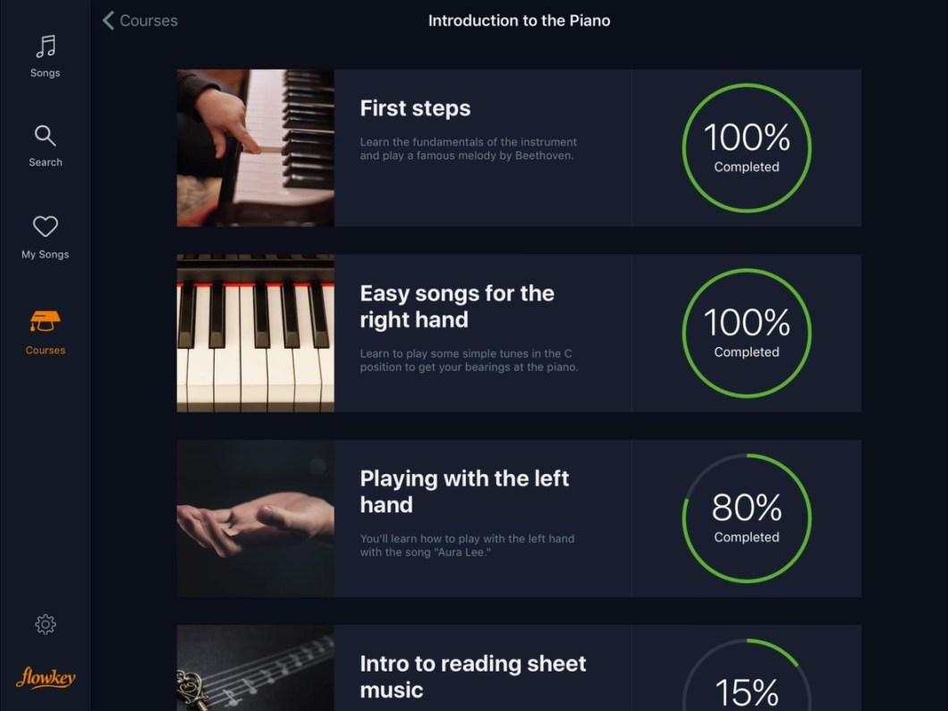 flowkey - aprende piano con tus canciones favoritas