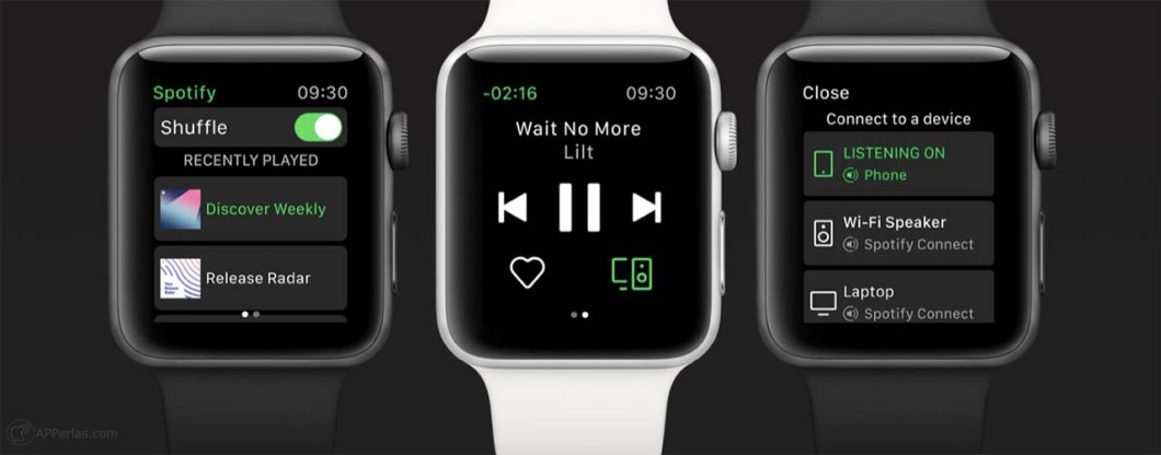 app de spotify para Apple Watch 4