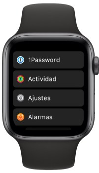 las aplicaciones en el Apple Watch 2