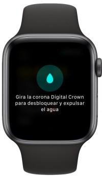 agua del Apple Watch 2