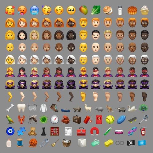 Nuevos emojis iOS 12.1