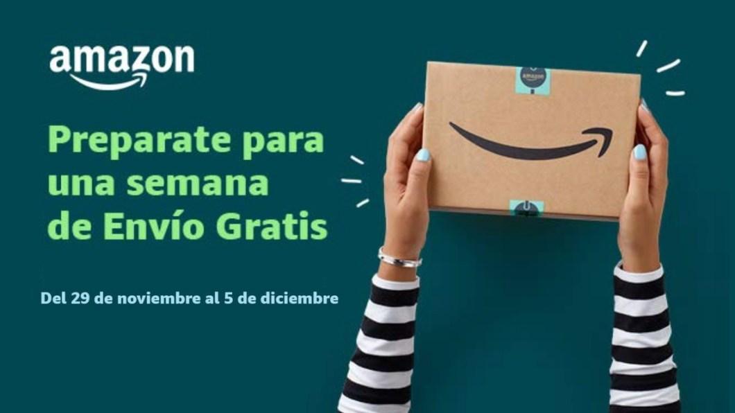 Envío gratis en tus pedidos de Amazon