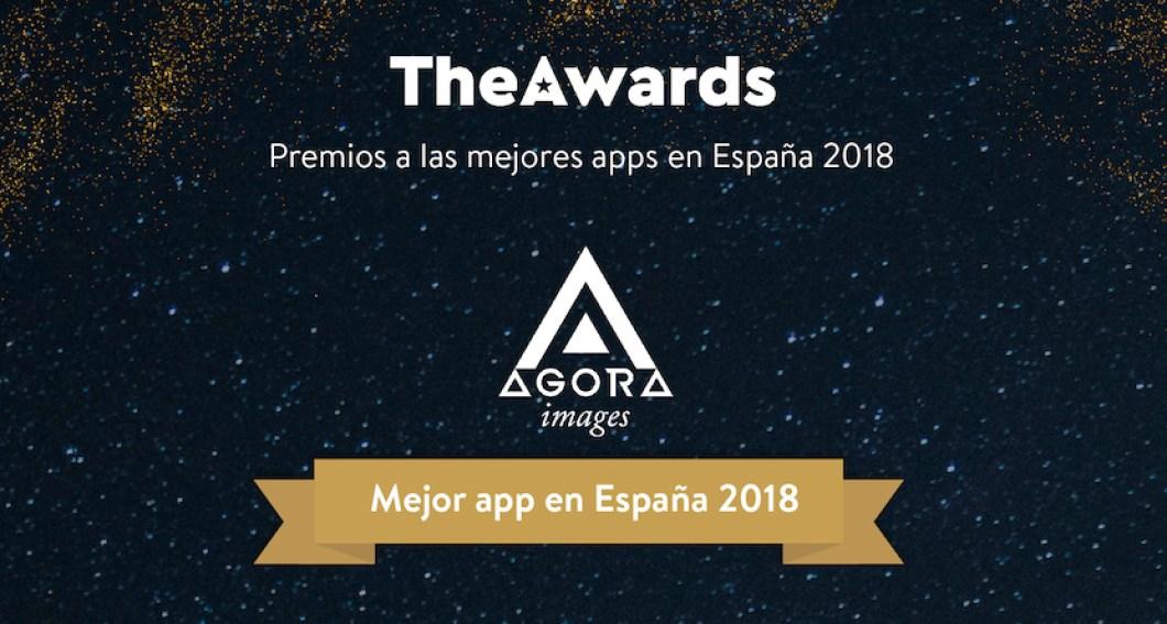 theawards 2018 mejor aplicacion