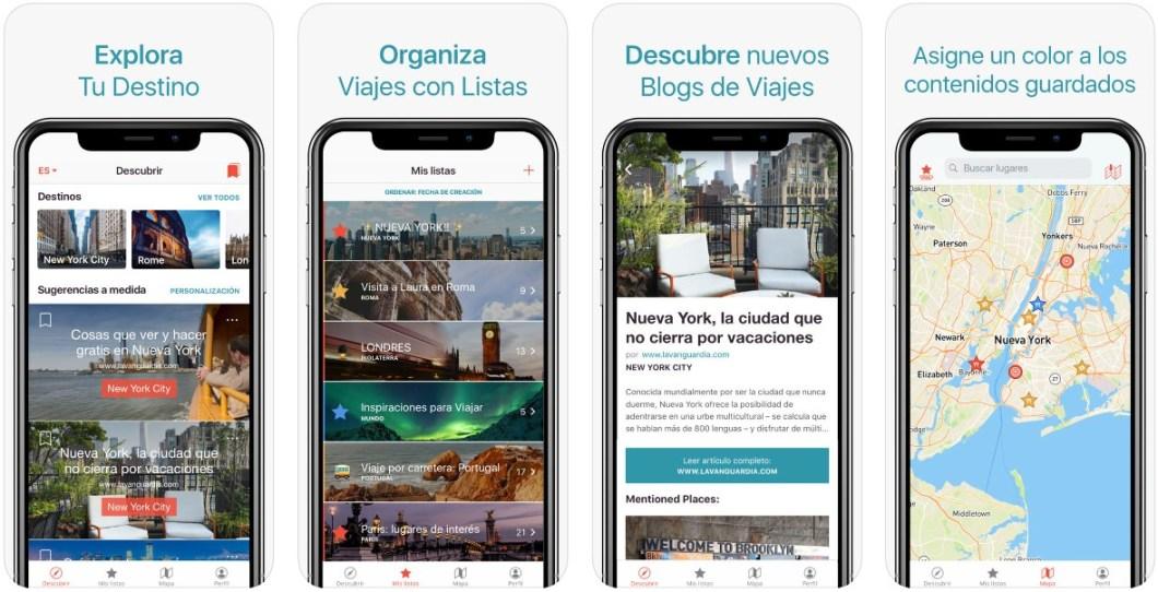 App de navegación sin conexión
