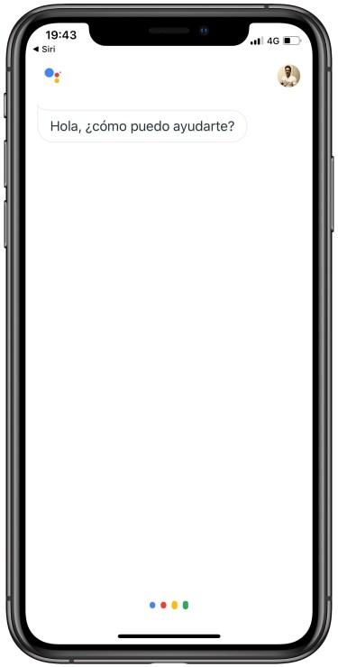 Google Assistant en el iPhone 3