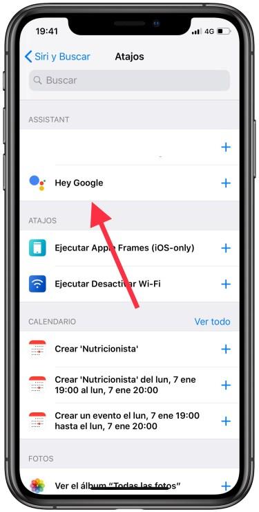 Google Assistant en el iPhone 2