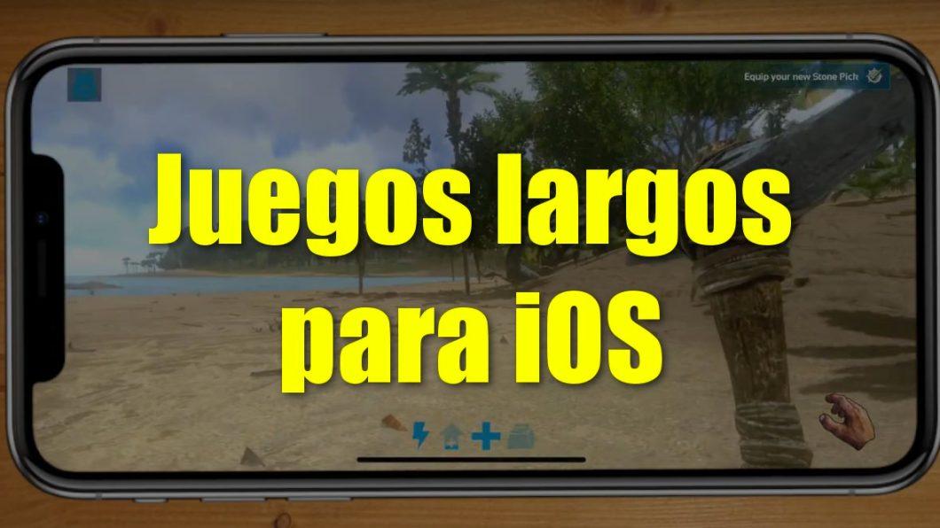 Juegos largos para iPhone y iPad