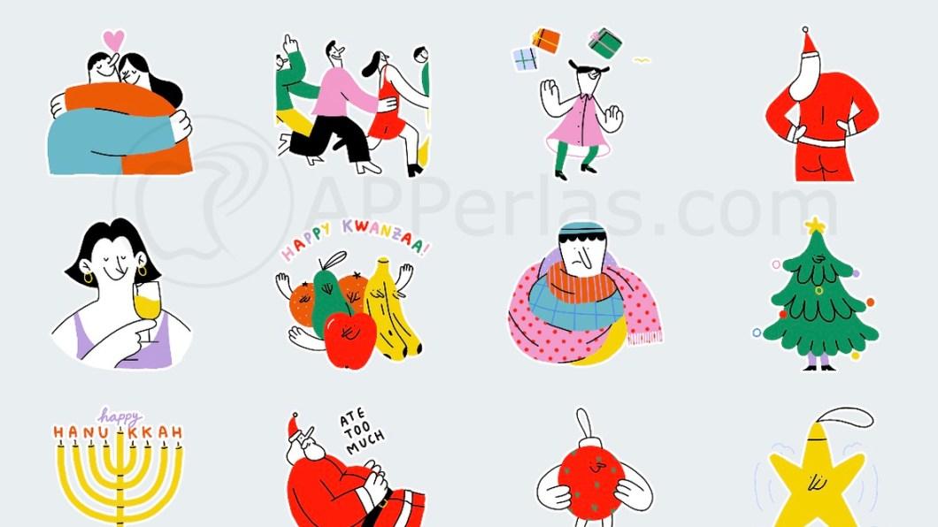Stickers navideños