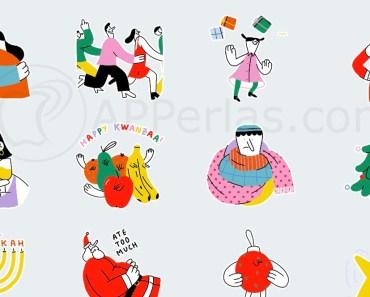 Stickers navideños para WhatsApp. Ya disponibles para descargar